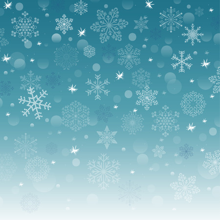 snowflake background: vector new year background with snowflake Illustration