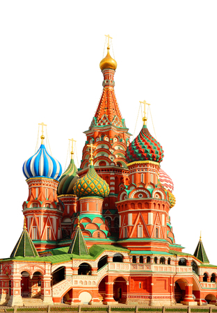 vasily: St Basils cathedral on Red Square in Moscow Russia