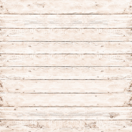 wood floor background: Wood pine plank white texture background Stock Photo