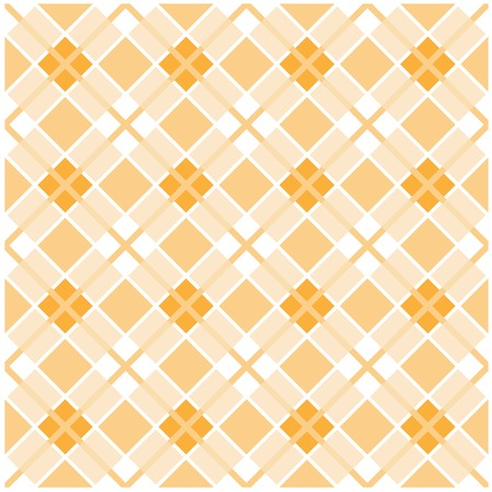 Light brown plaid background - checked pattern Ilustrace