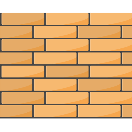 Brick wall seamless pattern - brickwork background