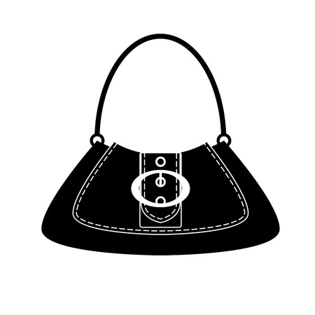 Dolly-bag - woman bag with buckle Illustration
