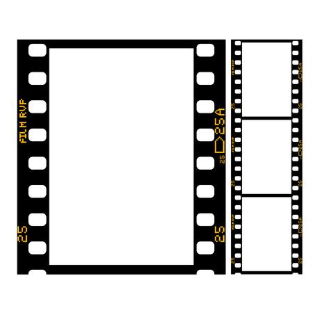 Film strip - frame of retro film for photograph or movie