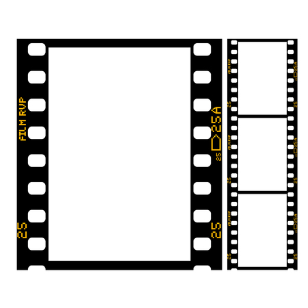 Film strip - frame of retro film for photograph or movie