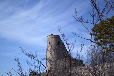 krkonose: Chojnik castle  Kynast  in Poland