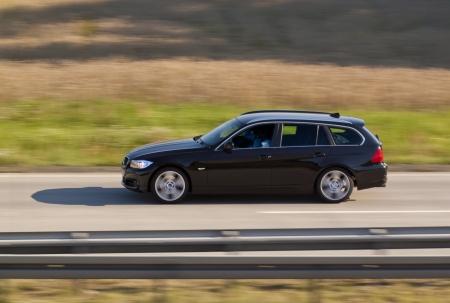 高速移動車