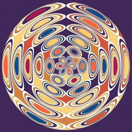 Kaleidoscope background photo