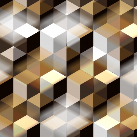 3d  background with cubes Stock Photo