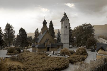 wang: Noruega Wang templo en Karpacz, Polonia.