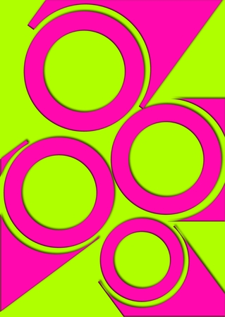 Colorful circles background  Stock Photo