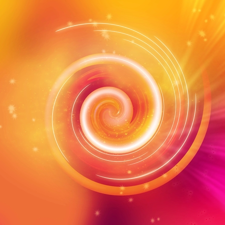 Abstract fire colors rotating swirl background  photo