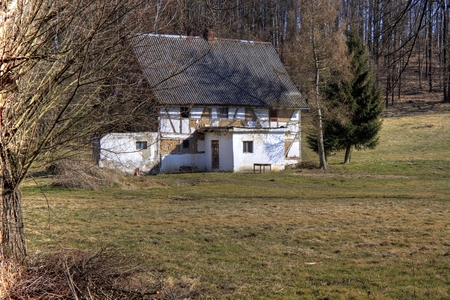 timbered: Abandoned Timbered House