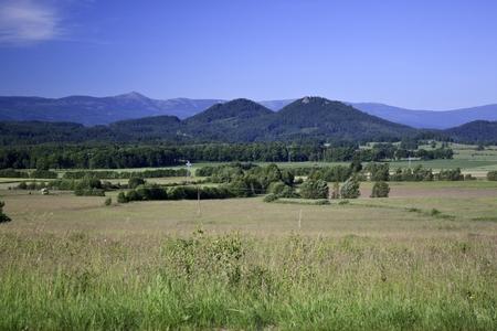 sokole mountains in Poland - Sudety