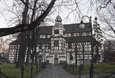 Timbered church of peace, Jawor, Silesia, Poland photo