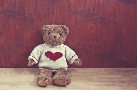 Retro Teddy Bear photo