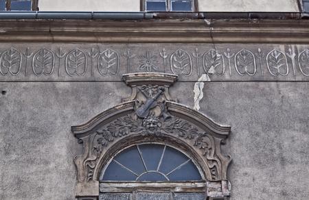 gora: Detail of the building in Jelenia Gora, Poland