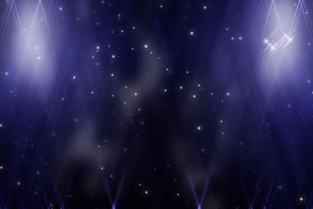 starlit sky: Stars in the night sky Stock Photo