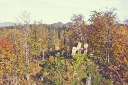 ruin: romantic ruin Stock Photo