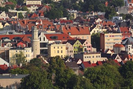 gora: Jelenia Gora seen from above