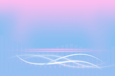 elegantly: Modern pastel background with abstract smooth lines Stock Photo