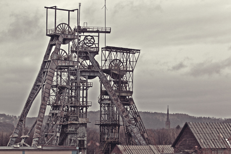Alte Kohlengrube Standard-Bild