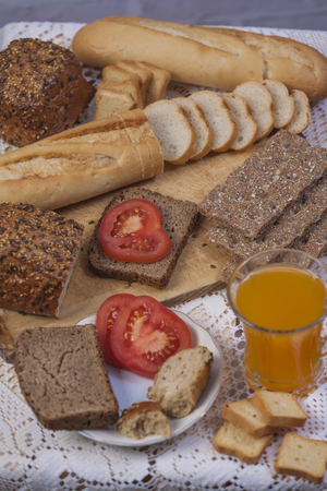 breakfast Stock Photo