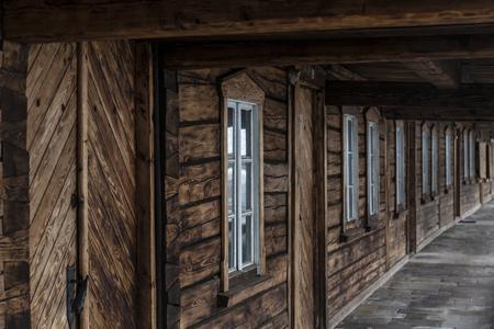 Europe, Poland, Lower Silesia, Chelmsko Slaskie   Houses weavers Twelve Reklamní fotografie