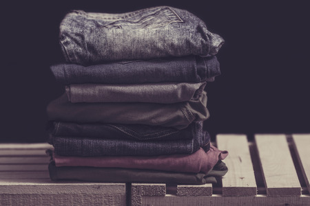 Pile of clothes 写真素材