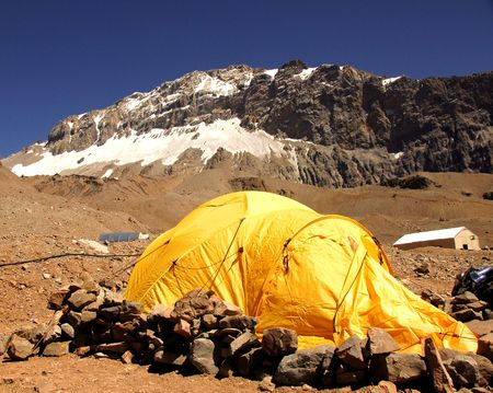 horcones: Base camp Aconcagua