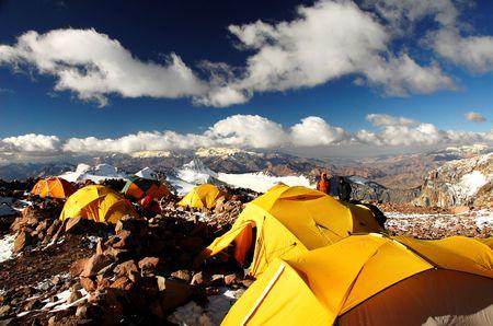 horcones: High Camp Aconcagua