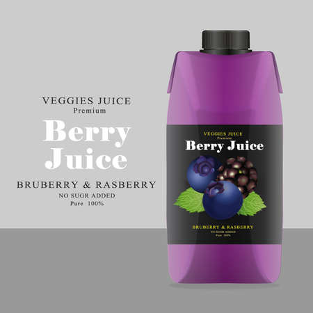 rasberry: Package and Label berry Juice