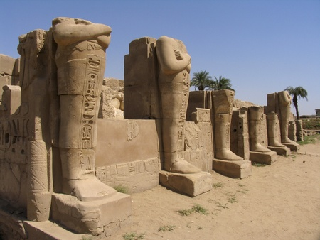 The Egyptian temple in Luxor