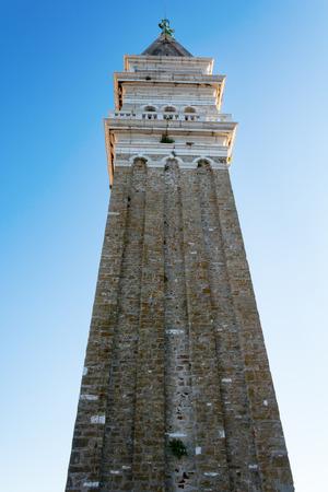 church bell: Church bell tower in Piran