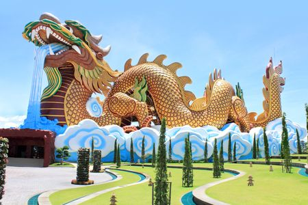 Museum of the Descendants of the Dragon, Thailand Museums and Art Centres, Suphanburi, Thailand photo