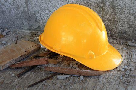 Yellow  helmet Stock Photo - 7475306