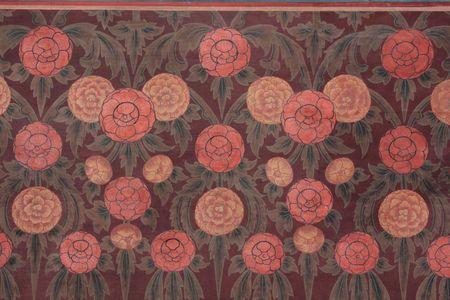 Flower Background classic Style 免版税图像
