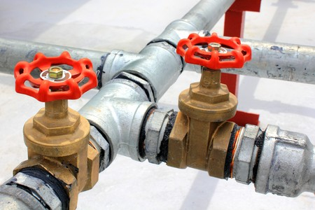 gas supply: Metal water pipes