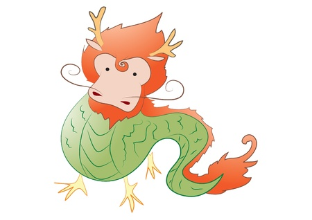 Cute Dragon Stock Vector - 16251262