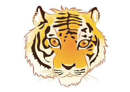 The Tiger Stock Vector - 16789138