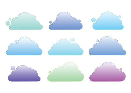 pastel color cloud