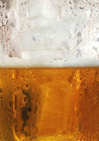 Beer and foam background Stock Photo - 24478440