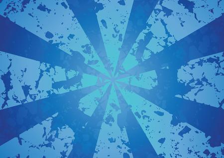 raggio: Blu Raggio astratto