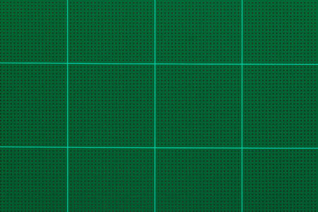 Cutting mats, Green background