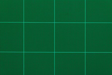 Cutting mats, Green background