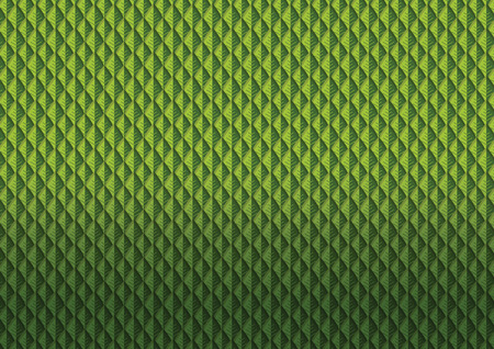 Green leaves pattern vector illustration Иллюстрация