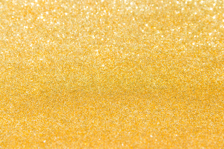 The golden glitter for texture or background
