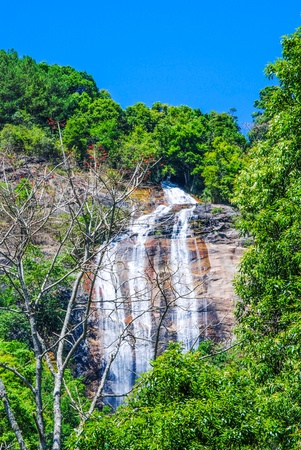 Waterfall on Doi Inthanon, Thailand Stock Photo