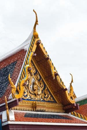 apex: Gable apex on Thai temple roof