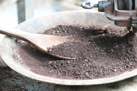 Vintage coffee mill grinder Stock Photo - 15515967