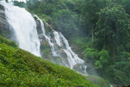 Waterfall in forest at Doi Inthanon national park, Chiang Mai, Thailand  Stock Photo - 15515858
